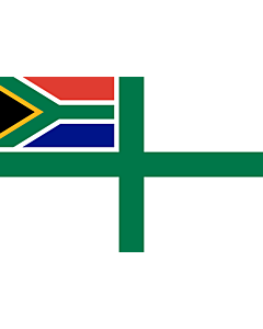 Fahne: Naval Ensign of South Africa