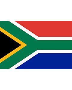 Fahne: Südafrika