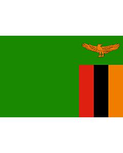 Fahne: Sambia