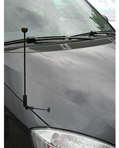 Autofahnen-Ständer Diplomat-Z-Black
