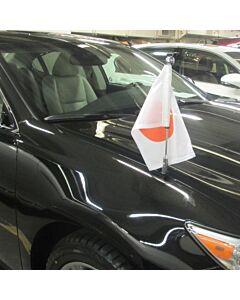Autofahnen-Ständer Diplomat-Z-Chrome