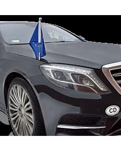 Autofahnen-Ständer Diplomat-Z-Chrome-MB-W222  für Mercedes-Benz S-Klasse W222 (2013-)