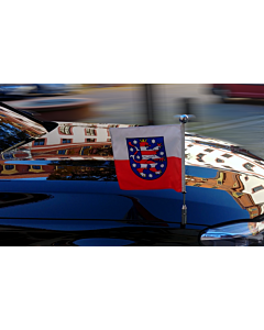 Autofahnen-Ständer Diplomat-Z-Chrome-Pro-BMW-7-G11