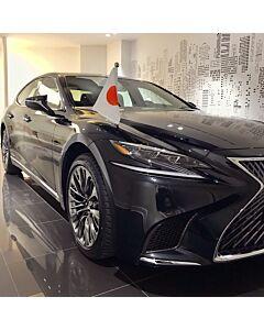 Autofahnen-Ständer Diplomat-Z-Chrome-PRO-Lexus-LS-XF50