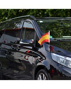Autofahnen-Ständer Diplomat-Z-Chrome-MB-V  für Mercedes-Benz V-Klasse & Vito W447 (2014-)