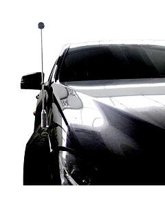 Autofahnen-Ständer Diplomat-Z-Chrome-MB-W212  für Mercedes-Benz E-Klasse W212 (2009-2016)