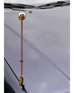 Autofahnen-Ständer Diplomat-Z-Gold